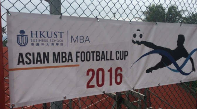 Nanyang MBA travels to a soccer tournament in Hong Kong