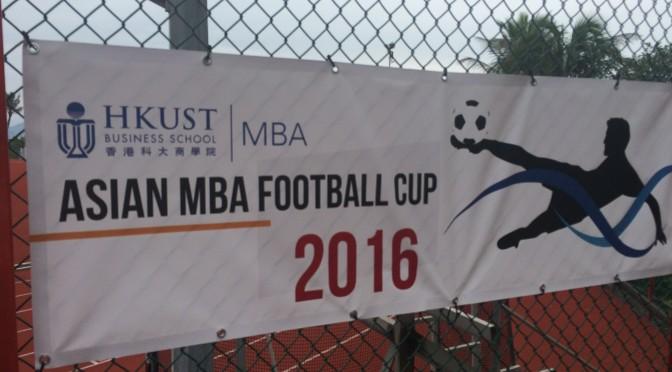 Nanyang MBA travels to a soccer tournament in Hong Kong