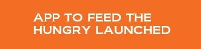 App to feed the hungry launched