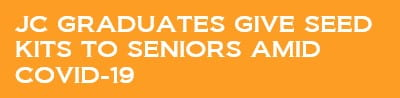JC graduates give seed kits to seniors amid COVID-19