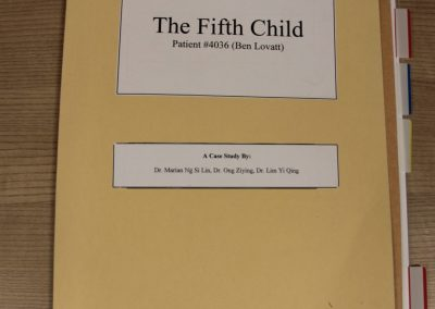 The Fifth Child by Marian, Ziying and Yi Qing