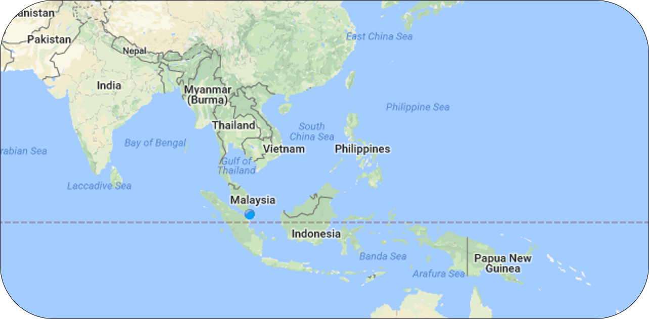 Map Of Asia Equator.Southeast Asia Biodiversity Crisis In Southeast Asia