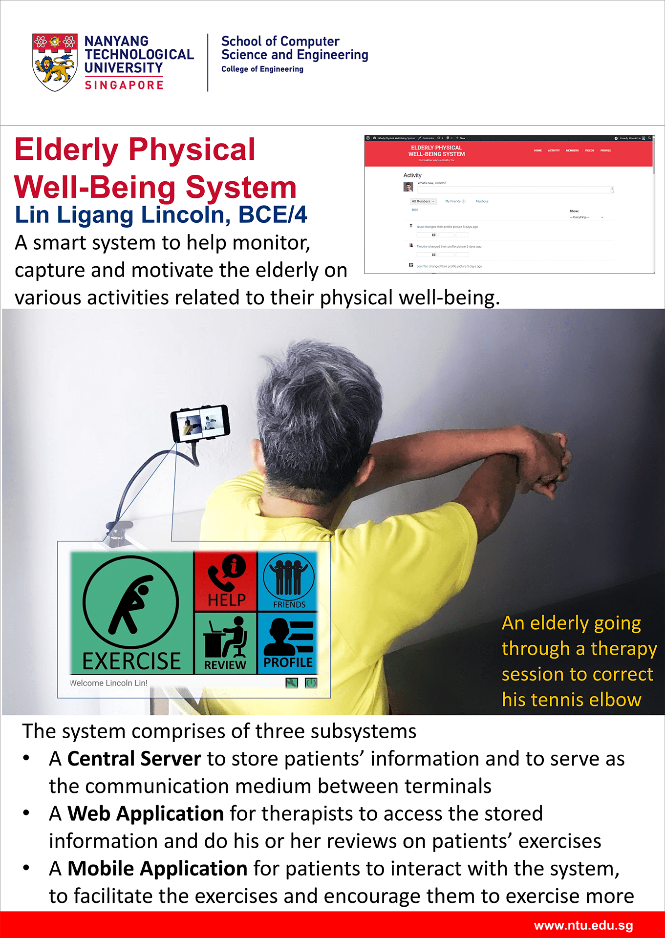 Elderly Physical Well Being System