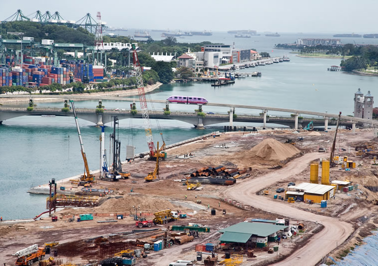Background impact of land reclamation in singapore for Soil reclamation