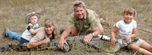 Steve, and his family, Terri, Bindi and Robert