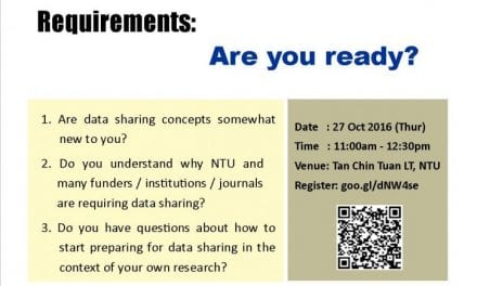 Open Access Research Data Sharing Requirements: Are you ready?