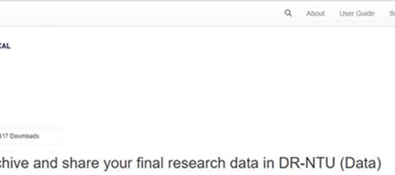 DR-NTU (Data) is here!