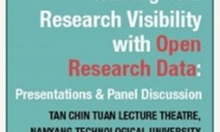 Raising your Research Visibility with Open Research Data: Presentations & Panel Discussion