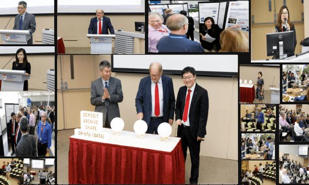 Launch of NTU Open Access Research Data Repository DR-NTU (Data)