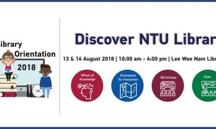 Discover NTU Library – Freshmen Orientation 2018