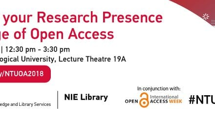 Takeaways from Open Access week seminar