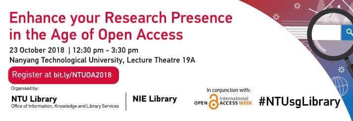 Takeaways from Open Access week seminar