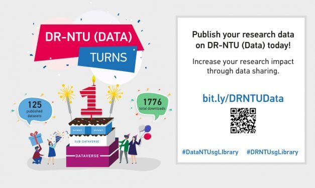 DR-NTU (Data) turns 1! Increase your research impact via data sharing