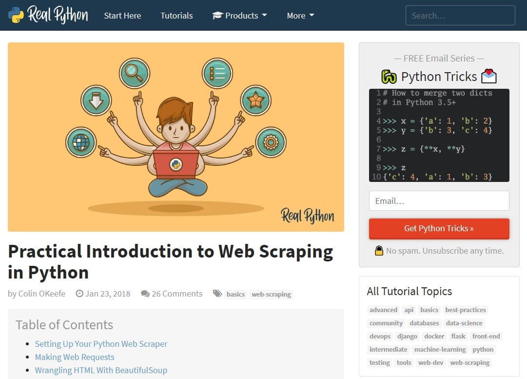 Web Scraping with Python | NTU Library