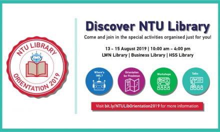 NTU Library Orientation 2019