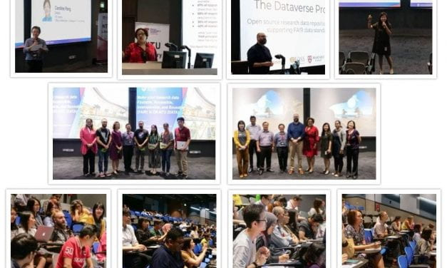 Report on DR-NTU (Data) talk and workshop on 11th and 12th November 2019