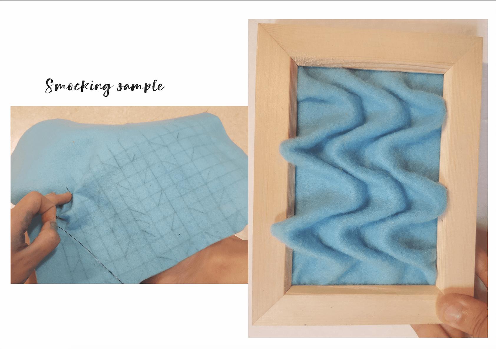 fabric manipulation   Tan Li Ling DR2007- Surface Design