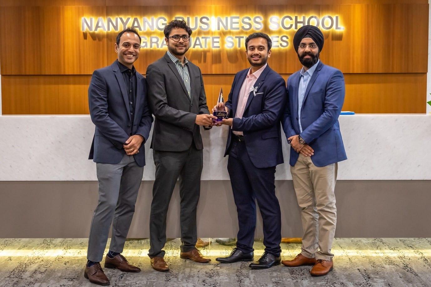 Grand winner of Sasin Bangkok Business Challenge 2019!