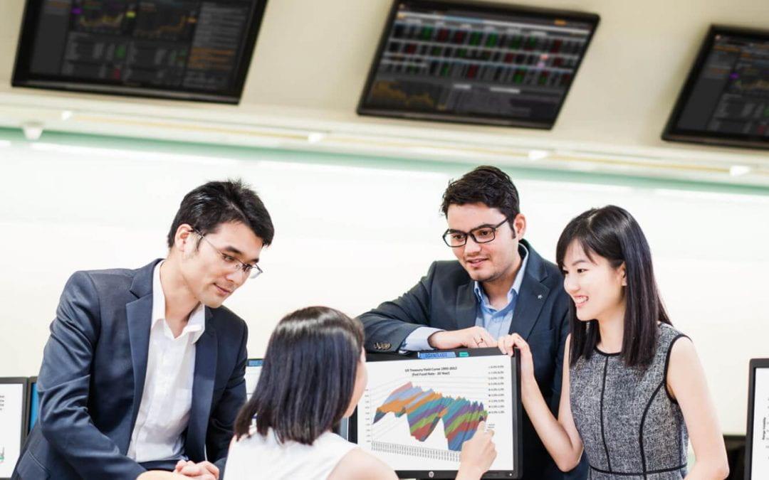 Deutsche banker in financing engineering programme