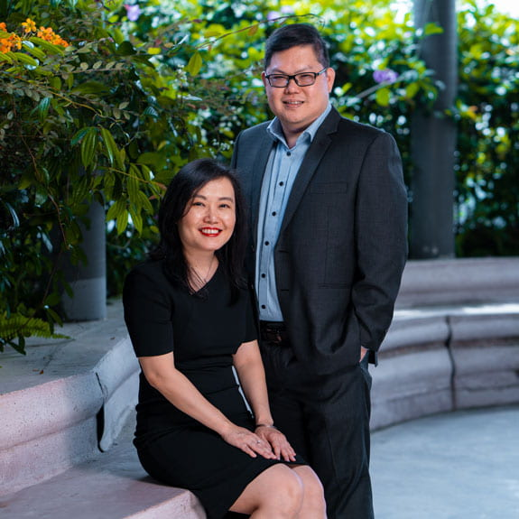 THE EMBA COUPLE EQUIPPING THEMSELVES TO LEAD IN THE DIGITAL AGE