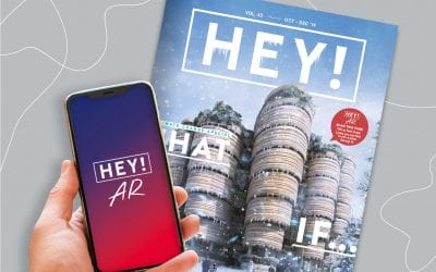 Find Lyon on the augmented reality cover of Issue 43
