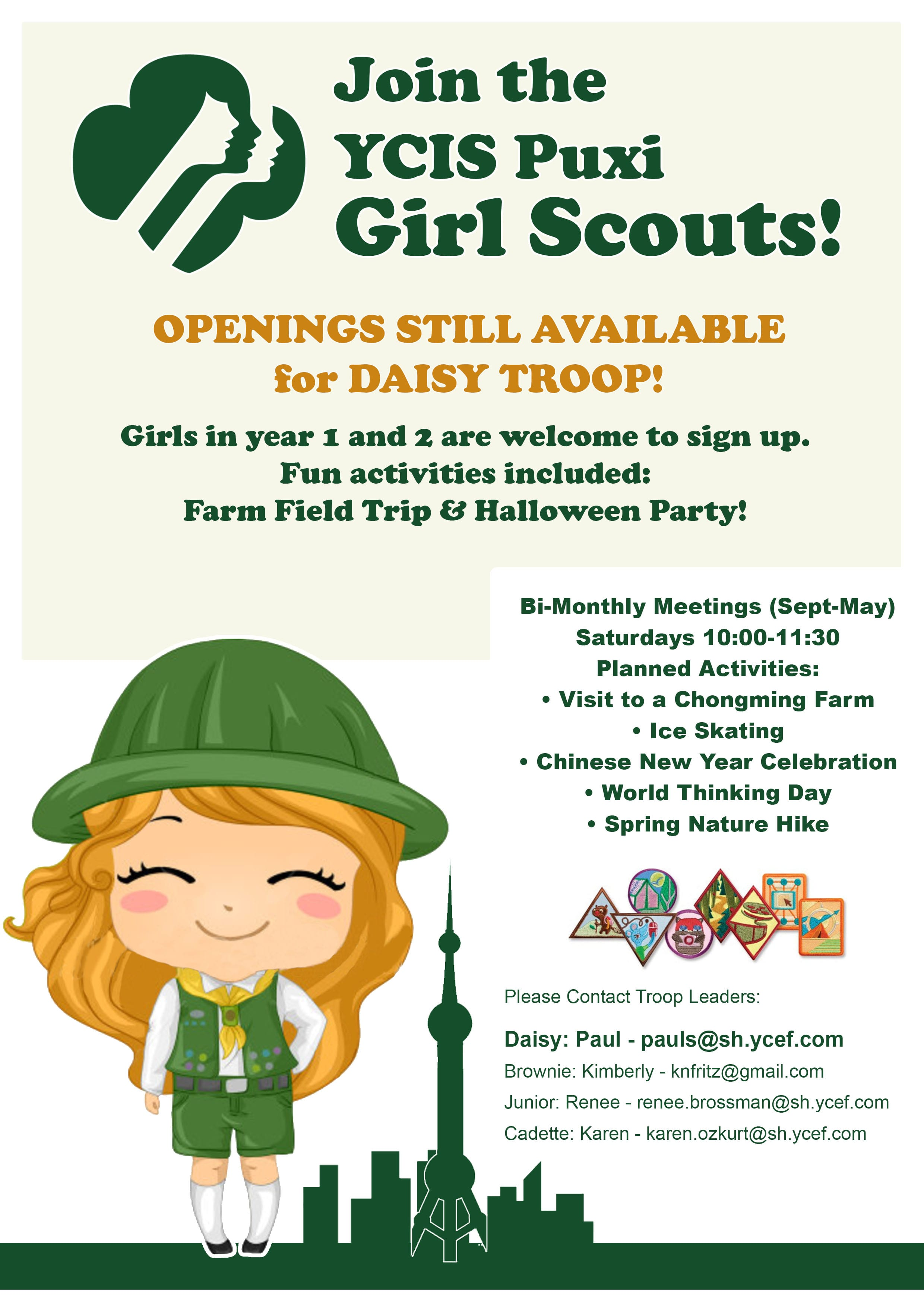 Ycis Puxi Girl Scouts