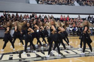 PC Dance Team performs at Late Night Madness