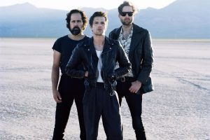 The Killers promoting their new album, Wonderful Wonderful.