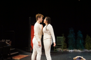 AJ Roskam and Ulfreya Lopez perform a scene from Almost, Main