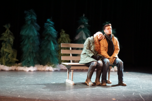 Alexia Patton and Thomas Edwards perform a scene from Almost, Maine