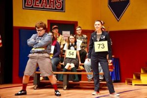 Bryan Sabbag and Emily Clark in The 25th Annual Putnam County Spelling Bee
