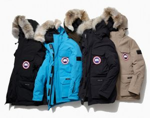 Four Canada goose jackets