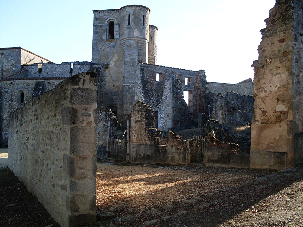 ruins of a town