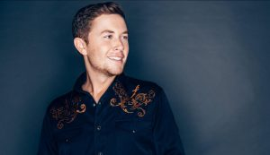 Musician Scott McCreery poses for a promotional shot for his new album, Seasons Change