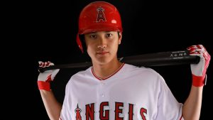 shohei ohtani pitcher and catcher angels