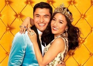 Henry Golding (left) and Constance Wu (right) of Crazy Rich Asians.