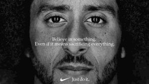 colin kaepernick nike ad stirs controversey