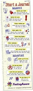 Photo of journaling tips and tricks.