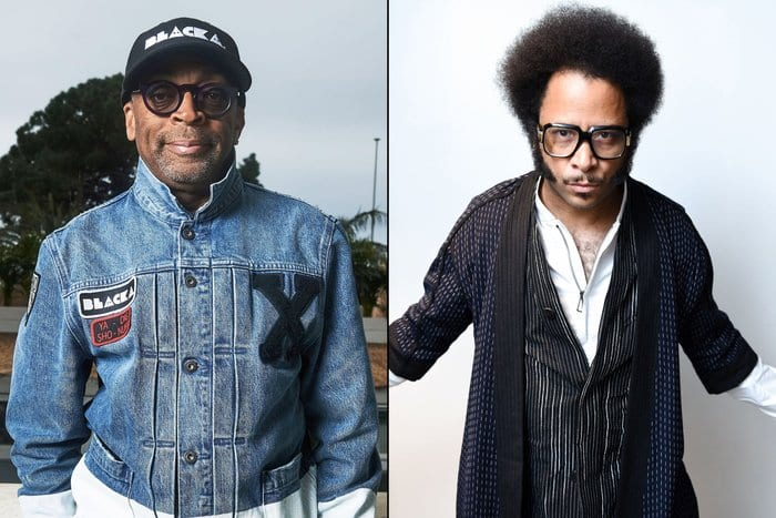 Spike Lee (left) and Boots Riley (right).