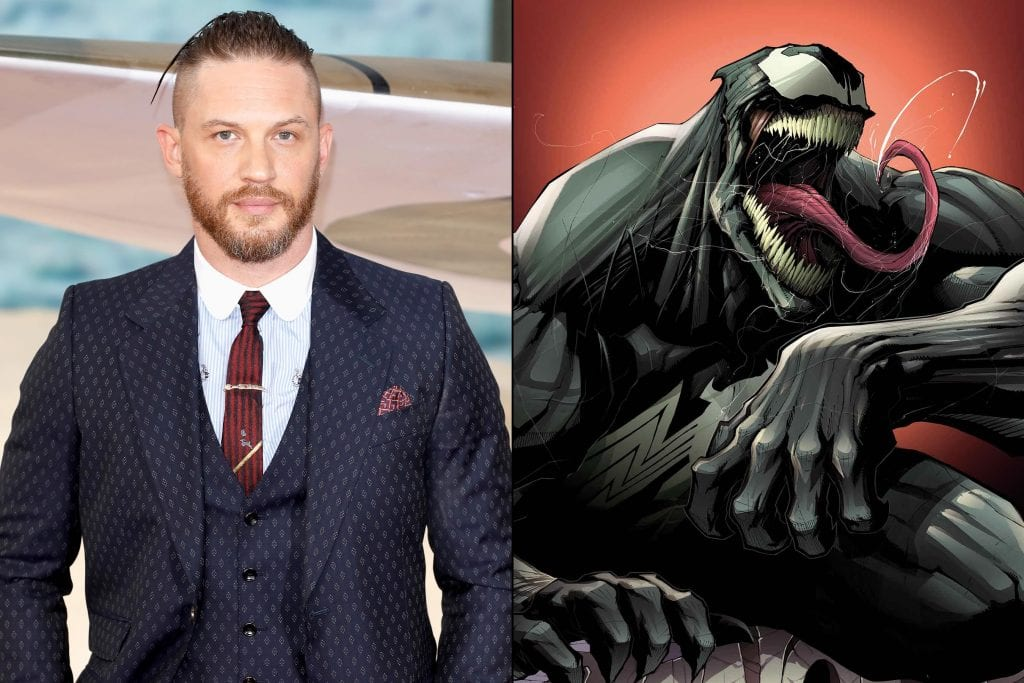 Tom Hardy brings humor, chaos, and violence to the infamous villain Venom