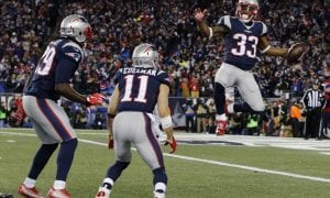 New England patriots touchdown