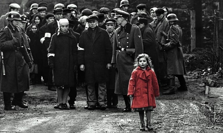 Schindler's List Girl in Red