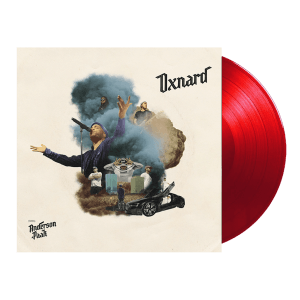 the album cover and vinyl for Anderson .Paak's latest album, Oxnard