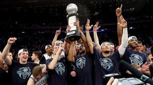 villanova university big east champions 2018