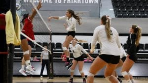 providence college volleyball impellizeri