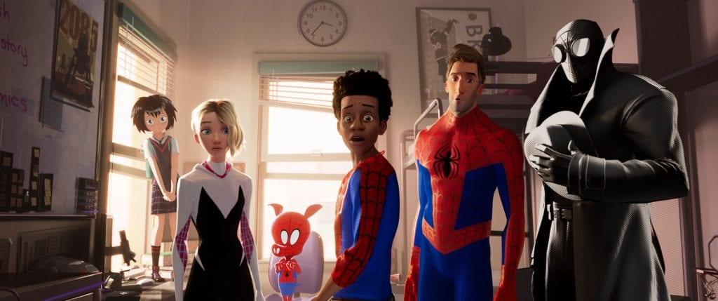 Horizontal movie still Spider-Man: Into the Spiderverse