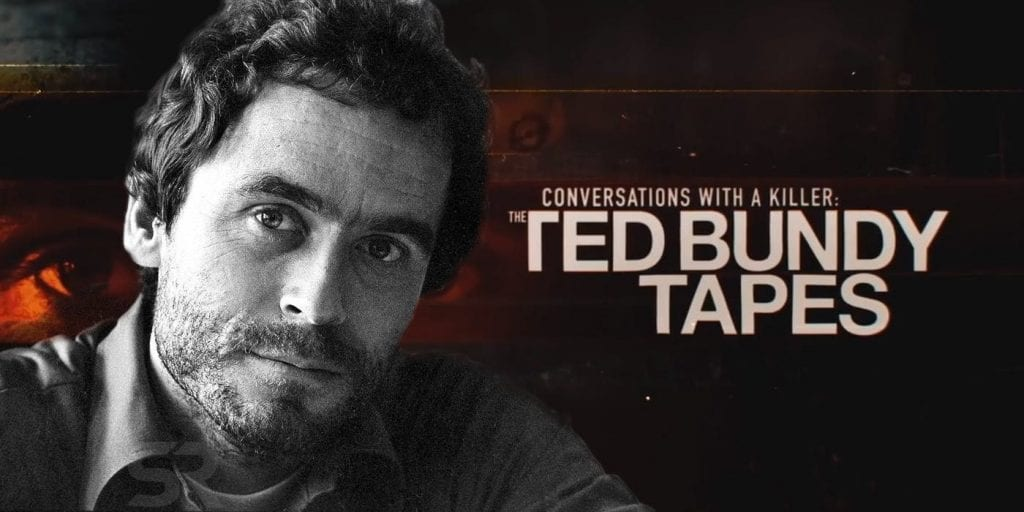 Poster of Ted Bundy Tapes.