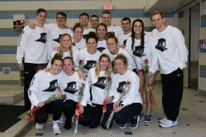 providence college swimming and diving team big east championships