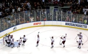 ncaa frozen four men's hockey university of massachusetts amherst
