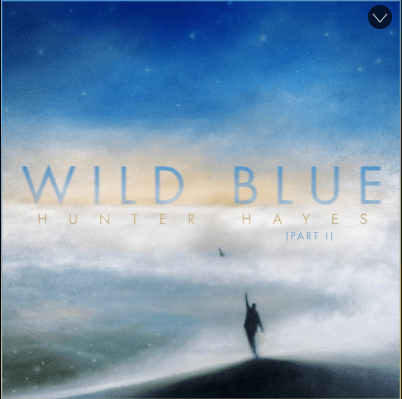 Hunter Hayes Wild Blue (Part 1) album cover